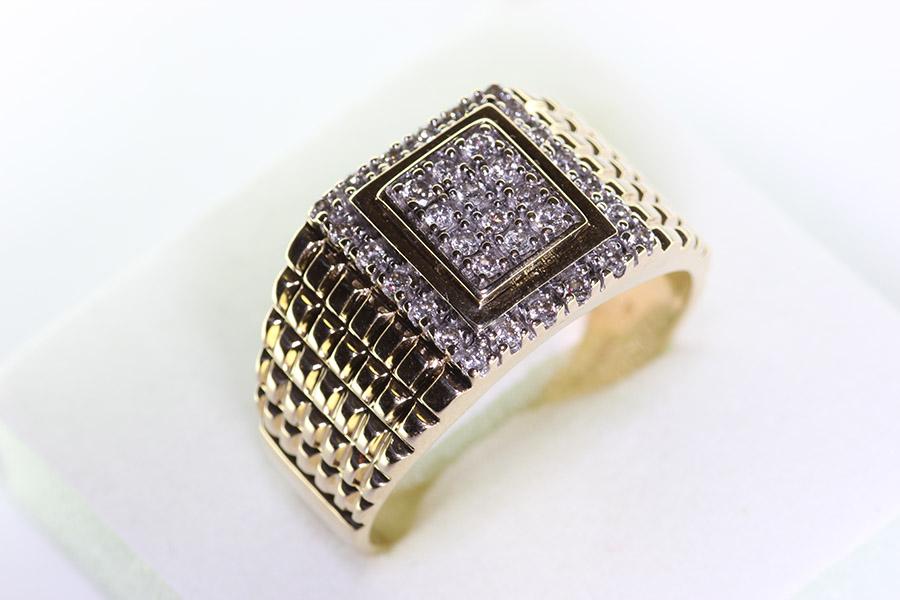 4555b5c56 Pánský prsten s diamanty - 200 šperků online