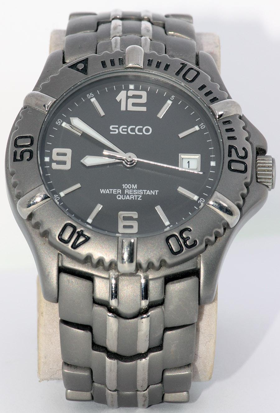 47731ad1b Pánské náramkové hodinky Secco