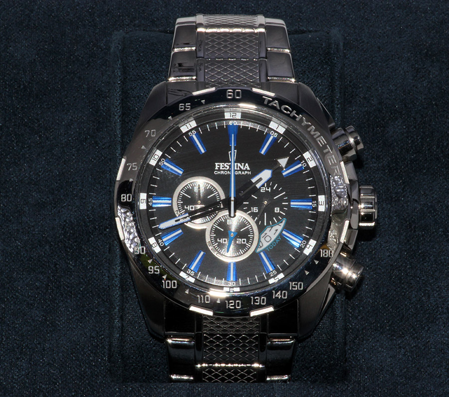 74e85b8ea1 Náramkové hodinky  Festina Chrono Dual Time (16488)