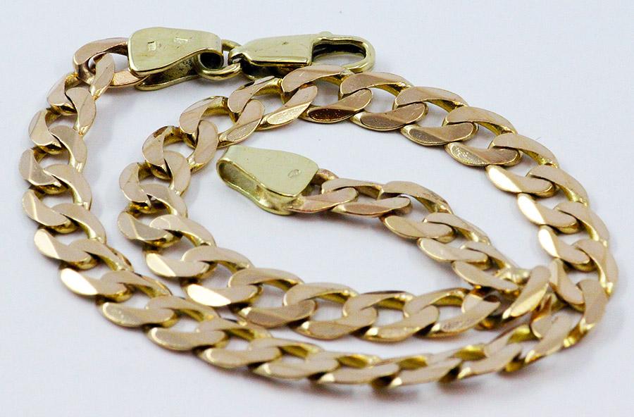 e02929d21 Zlatý pánský náramek masivní - 200 šperků online