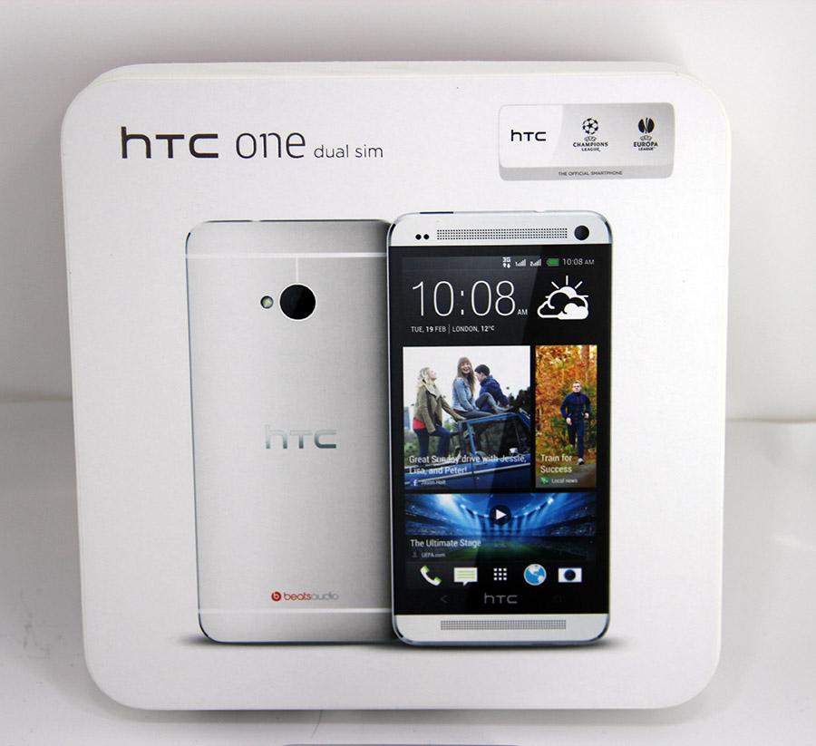 Mobilní telefon: HTC One Dual 32GB (NOVÝ, ZÁRUKA)