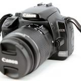 Canon 400D + EFS 18-55 mm (bazar)