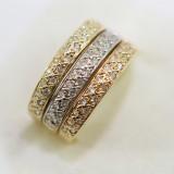 Zlatý dámský prsten