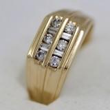 Zlatý pánský prsten