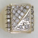 Historický prsten s diamanty