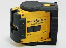 Měřící laser: STABILA LAX 200 (nepoužité)
