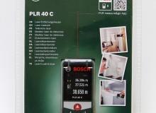 Laserový dálkoměr: Bosch PLR 40 C (nepoužité) SLEVA