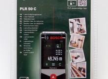 Digitální laserový dálkoměr: Bosch PLR 50 C (nepoužité)