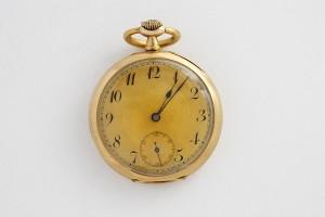 Zlaté kapesní hodinky Diomede 1897 systeme glashutte
