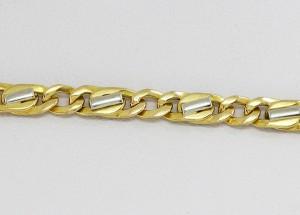 Zlatý pánský náramek elegantní