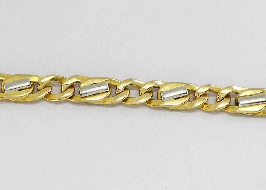 67a4a4c68 Zlatý pánský náramek elegantní