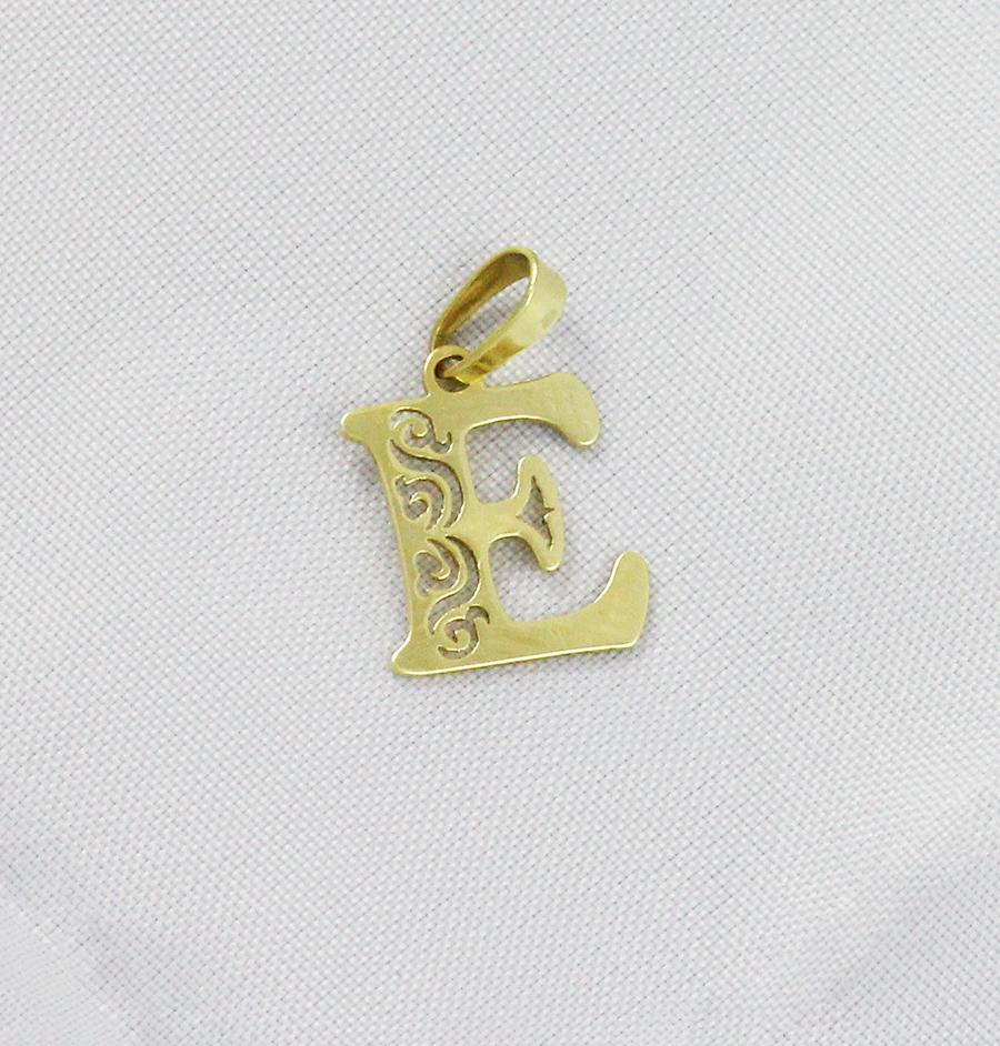 5ad25a72c Zlatý přívěsek písmeno E - Zastavárna a Bazar Zlín - U radnice