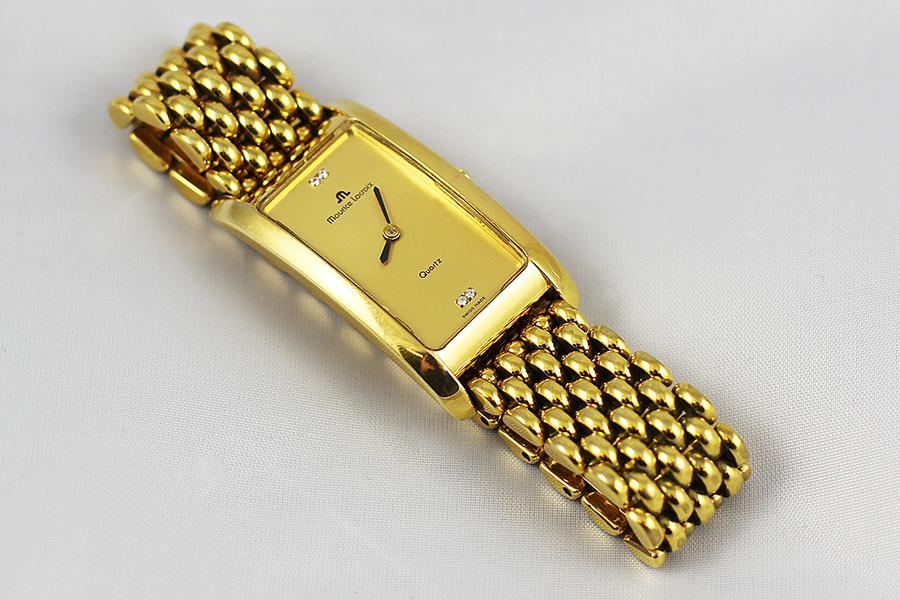 Dámské pozlacené hodinky  Maurice Lacroix Damenuhr - Zastavárna a ... 68905607886