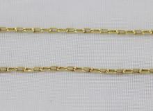 Klasický dlouhý řetízek ze žlutého zlata
