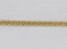 Zlatý náramek s nahuštěnými kroužky