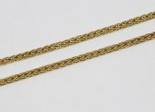 Zlatý řetízek geometrický