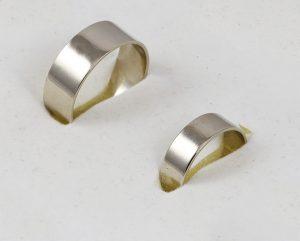 Snubní prsteny v bílém zlatě