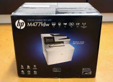 Multifunkční firemní tiskárna: HP Color LaserJet Pro MFP M477fdw