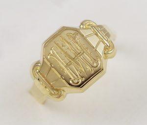 Pánský historický prsten