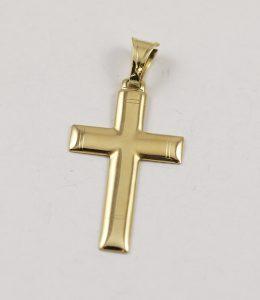 Větší zlatý kříž