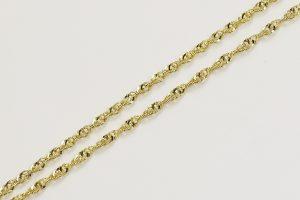 Zlatý kroucený řetízek