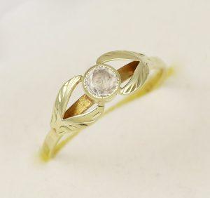 Prsten velký zirkon