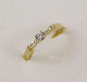 Prsten luxusní elegance