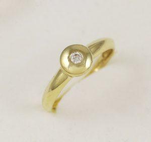 Prsten luxusní se zirkonem