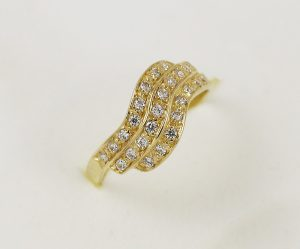 Prsten vlny zirkonů