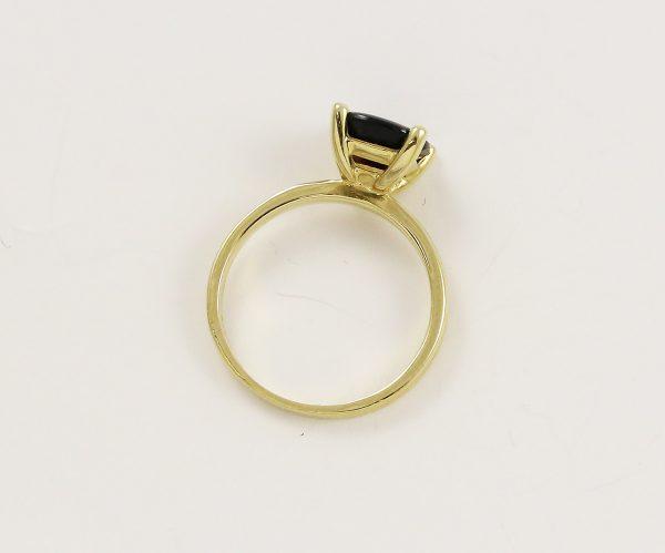 Prsten zásnubní granát