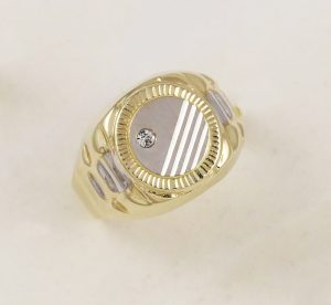 Pánský prsten elegance