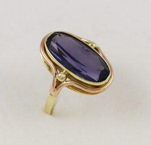 Prsten luxusní provedení