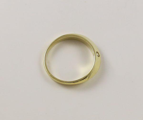 Prsten luxusní tvar