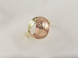 Prsten kombi kulatý