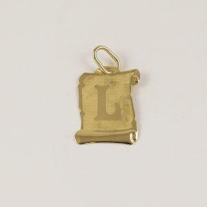 Přívěsek pergamen L