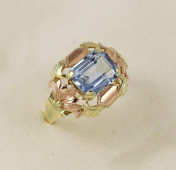 Prsten baroko mini