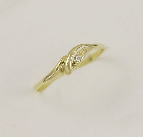 Prsten jemná elegance