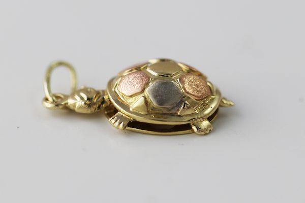 Přívěsek 3D želva