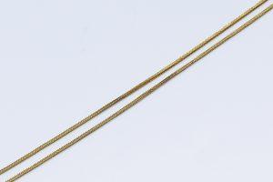 Jemný zlatý řetízek 18K