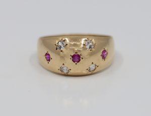 Prsten s kameny elegance
