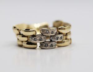 Zlatý volný prsten