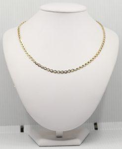 Zlatý dámský náhrdelník
