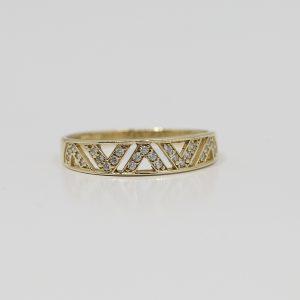 Prsten elegance jemný
