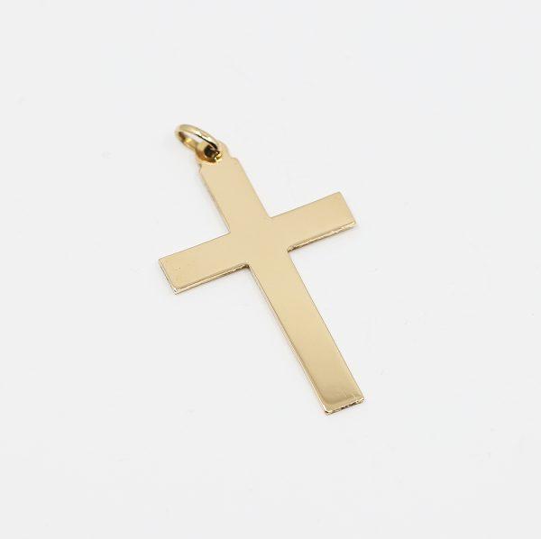 Zlatý kříž 18K